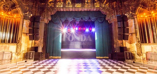 Calendar Booking : Photos the fonda theatre